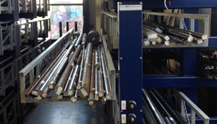 Storage pipes and tubes roll out