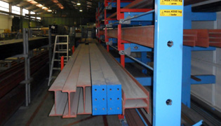 Roll out cantilever rack 3