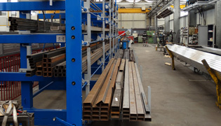 Roll out cantilever rack 7