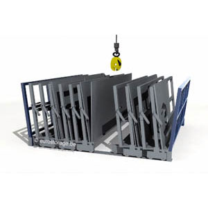 Mobile frame rack: Manual