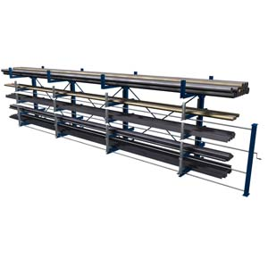 Roll out cantilever rack 1